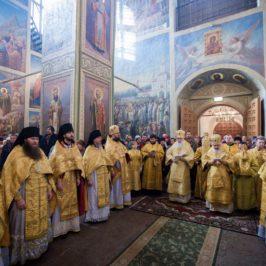 В Иверском монастыре престольный праздник