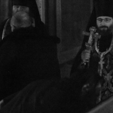 Чин прощения в Иверском монастыре
