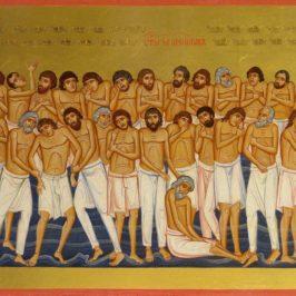 Митрополит совершил Литургию Преждеосвященных Даров в Иверском монастыре
